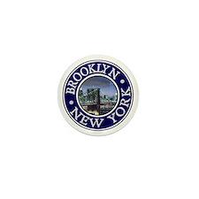 Brooklyn Mini Button