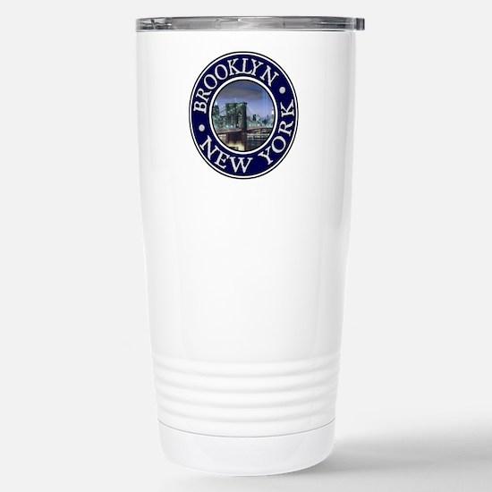 Brooklyn Stainless Steel Travel Mug