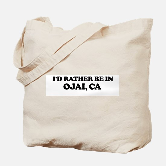 Rather: OJAI Tote Bag