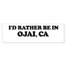 Rather: OJAI Bumper Bumper Sticker