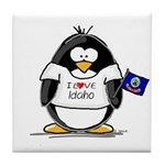 Idaho Penguin Tile Coaster