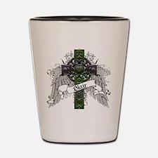 Blair Tartan Cross Shot Glass