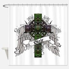 Blair Tartan Cross Shower Curtain