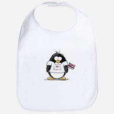 Hawaii Penguin Bib