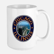 Chicago 2 Large Mug