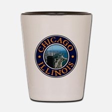 Chicago 2 Shot Glass