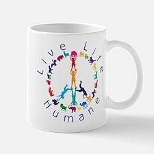 Live Life Humane Logo Mug