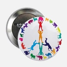 "Live Life Humane Logo 2.25"" Button"