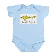 Zebra Shark Infant Bodysuit
