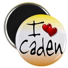 I heart Caden Magnet