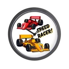 Speed Racer Wall Clock