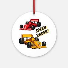 Speed Racer Ornament (Round)