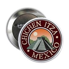 "Chichen Itza 2.25"" Button"