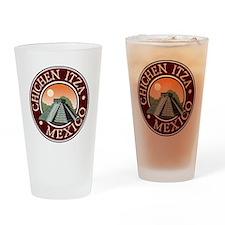 Chichen Itza Drinking Glass