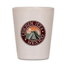 Chichen Itza Shot Glass