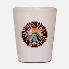 Chichen Itza Shot Glass