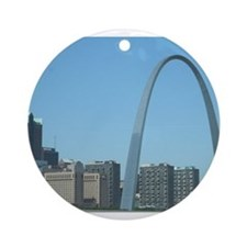 St. Louis Arch Ornament (Round)