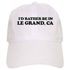 Rather: LE GRAND Baseball Cap