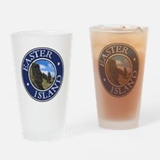 Easter Island Drinking Glass