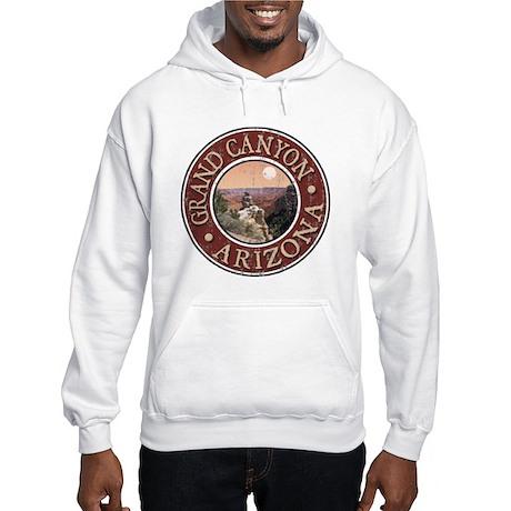Grand Canyon - Distressed Hooded Sweatshirt