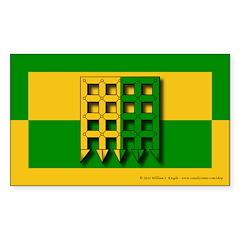Unser Hafen Populace Sticker (Rectangle 10 pk)