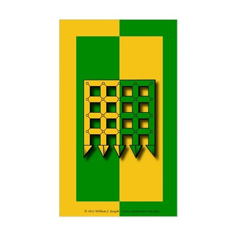 Unser Hafen Populace Sticker (Rectangle)