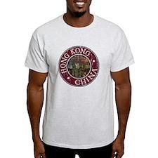 Hong Kong - Distressed T-Shirt