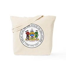 Delaware State Seal Tote Bag