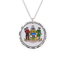 Delaware State Seal Necklace