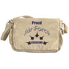 Proud Air Force Grandma Messenger Bag