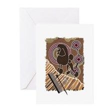 Dreamtime Poodle Greeting Cards (Pk of 10)