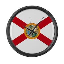 Florida State Flag Large Wall Clock