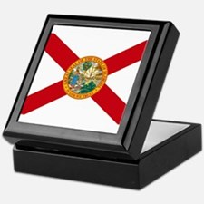 Florida State Flag Keepsake Box
