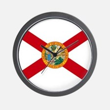 Florida State Flag Wall Clock
