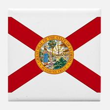 Florida State Flag Tile Coaster