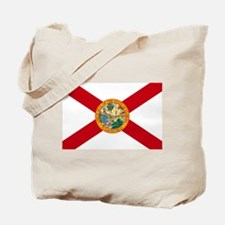 Florida State Flag Tote Bag