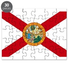 Florida State Flag Puzzle
