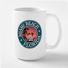 Miami Beach Large Mug
