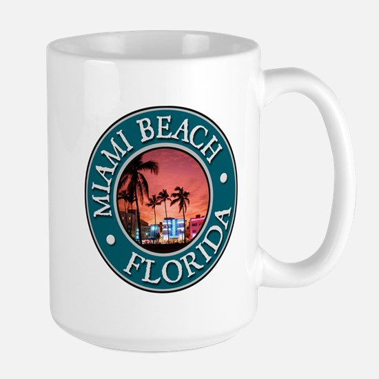 Miami Beach Large Mug