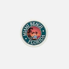 Miami Beach Mini Button