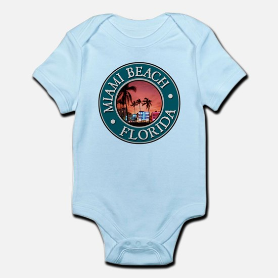 Miami Beach Infant Bodysuit