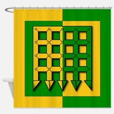 Unser Hafen Populace Shower Curtain