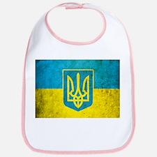 Vintage Ukraine Flag Bib