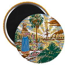 "Florida State Seal 2.25"" Magnet (10 pack)"