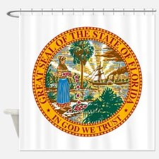 Florida State Seal Shower Curtain
