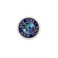 New York Mini Button