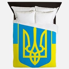 Ukraine Flag Queen Duvet