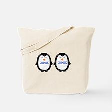 Teo Male Penguins Tote Bag