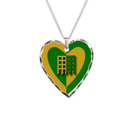 Unser Hafen Populace Necklace Heart Charm