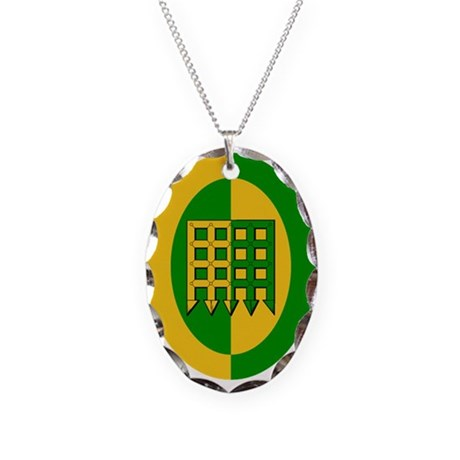 Unser Hafen Populace Necklace Oval Charm